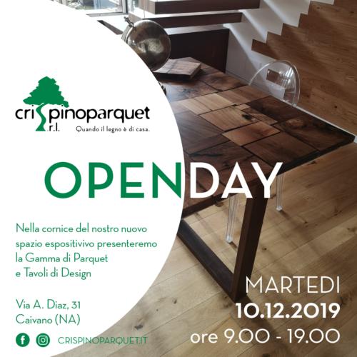 Open Day – Tavoli di Design